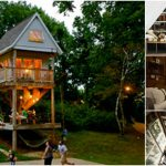 Tom's Treehouse Brings Tiny House Magic to Camp Wandawega