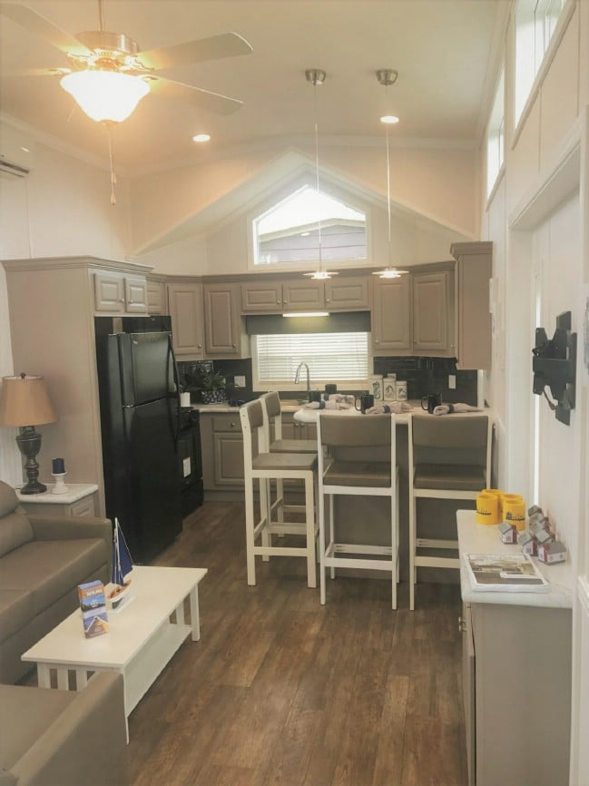Beach Beauty by Park Model Homes is a Classy Tiny House That Is Big on Style