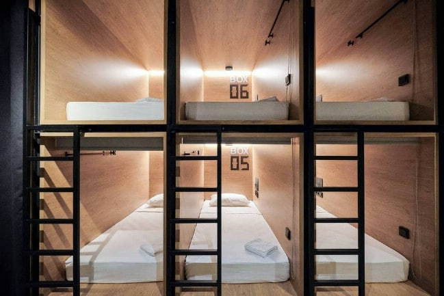 As Tiny As It Gets: Stay in a Capsule Hotel in Saint Petersburg