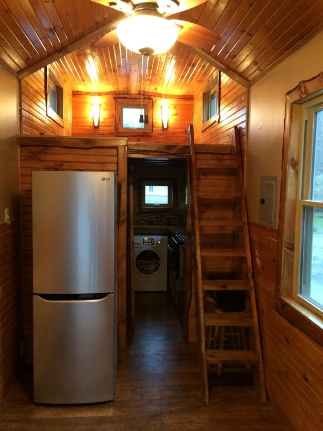 This Tiny House on Wheels is a Rustic Dream Brought To Life {For Sale}