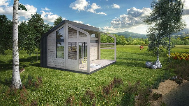 The Foldable Tiny House Can Fit Anywhere
