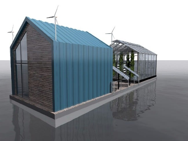 The Eco Barge Is a Tiny Educational Space for Workshops