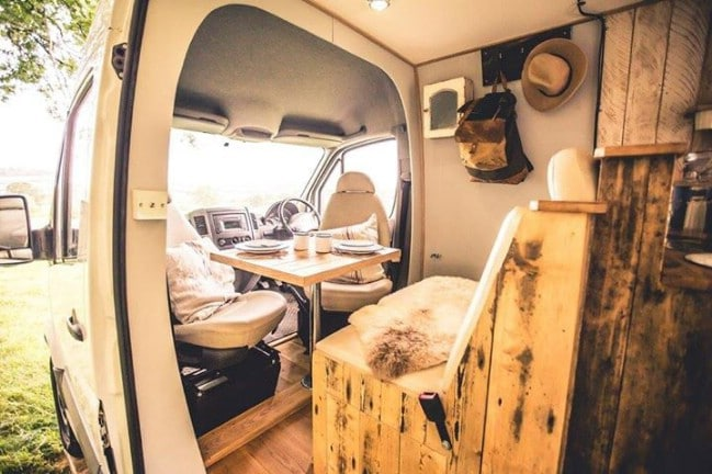 The Mercedes Sprinter 2016 Is a Tiny Home in a Van With Real Class
