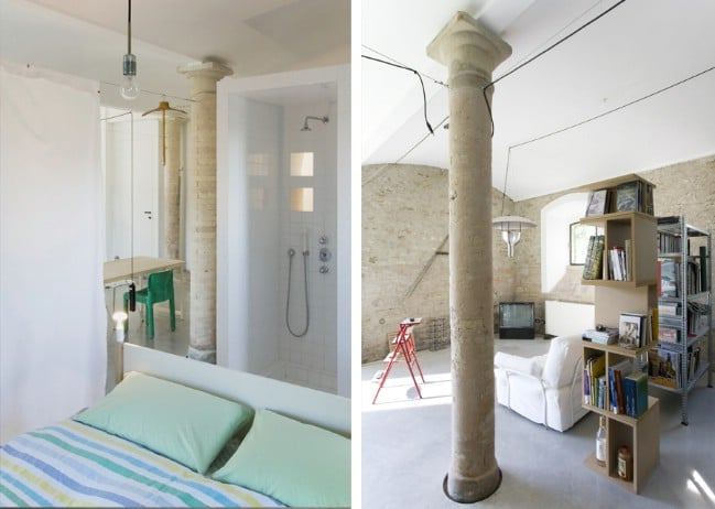 This Tiny Apartment Has a Very Cool and Unusual Feature