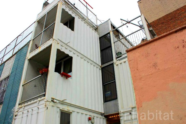 This Amazing Urban Home Is Made Out of Shipping Containers