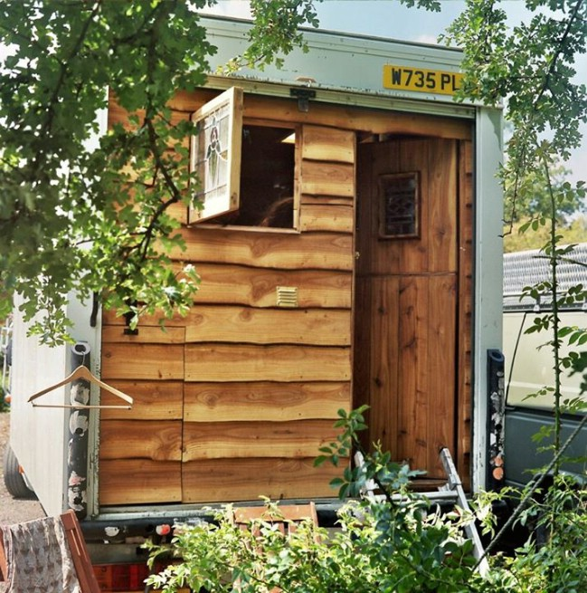 This Luton Style Tiny House Proves You Can't Judge a Book By Its Cover