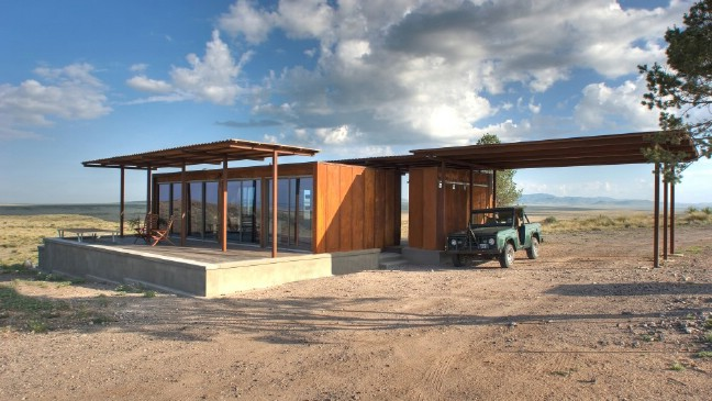 The Breathtaking Marfa Weehouse Is Only 440 Square Feet
