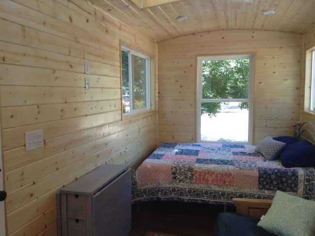 The Blue Caboose Is the Rustic Tiny House You've Been Pining After
