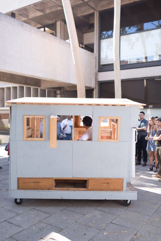 University of Southern California Students Are Creating Tiny Homes for Homeless People