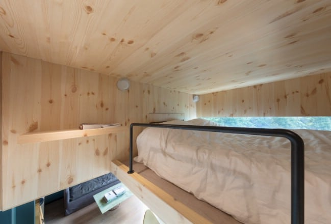 This Mini Treehouse In Hong Kong Has All You Need in Just 370 Square Feet