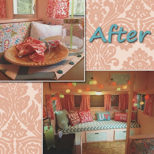 "14-Year-Old Renovates Old Camper Into Luxurious ""Glamper"""
