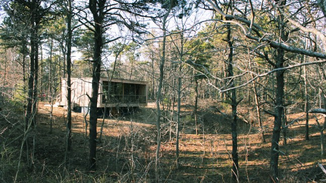 """This """"Penthouse in the Woods"""" Is 570 Square Feet of Pure Joy on Cape Cod"""