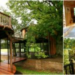 The Safari Style Tree House is Like a Resort at Home