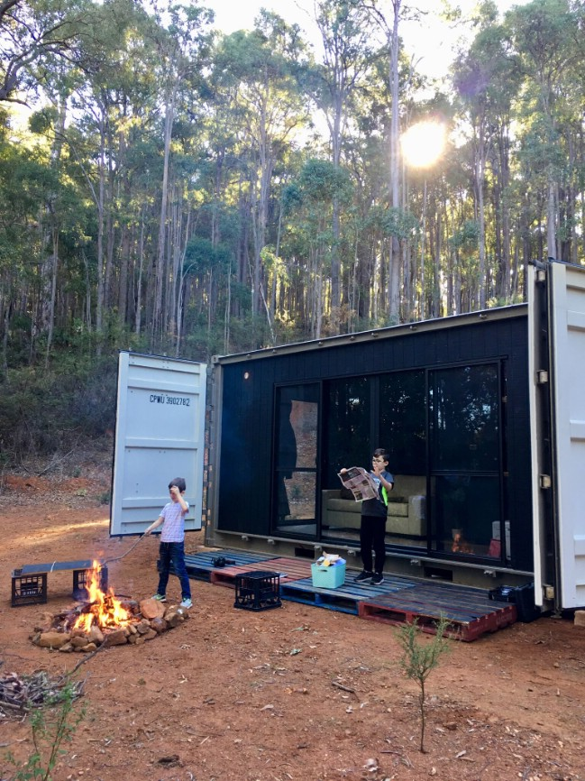 This Stunning Minimalist Shipping Container Home Was Built For Less Than $15,000