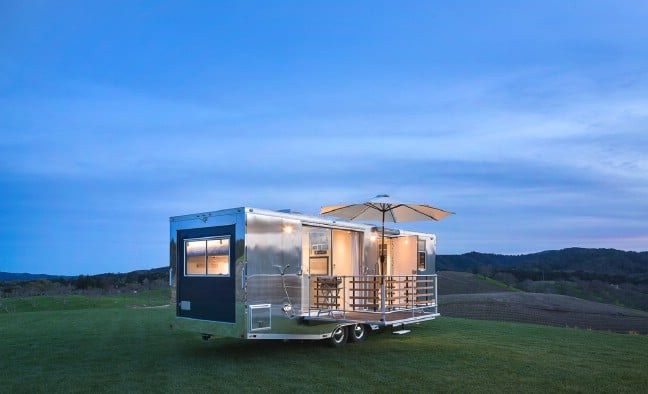 The Living Vehicle Enhances the Classic RV With All the Comfort of Modern Tiny Houses