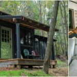 The MoonShadow is an Intimate Cabin for Two in the Woods