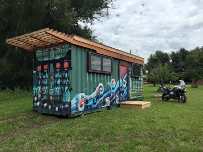 NOLA Is a Cool, Artsy Tiny Home Ready to Purchase