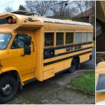 This Converted School Bus Tiny Home is on Sale for Just $4,500