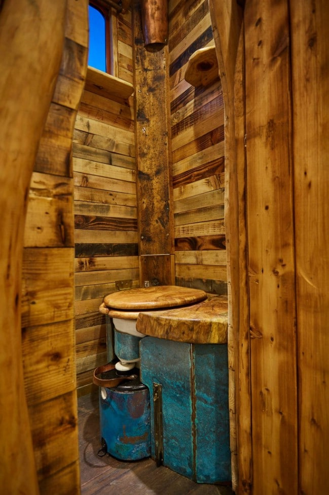 This Amazingly Rustic Tiny House Was Originally a Horse Truck