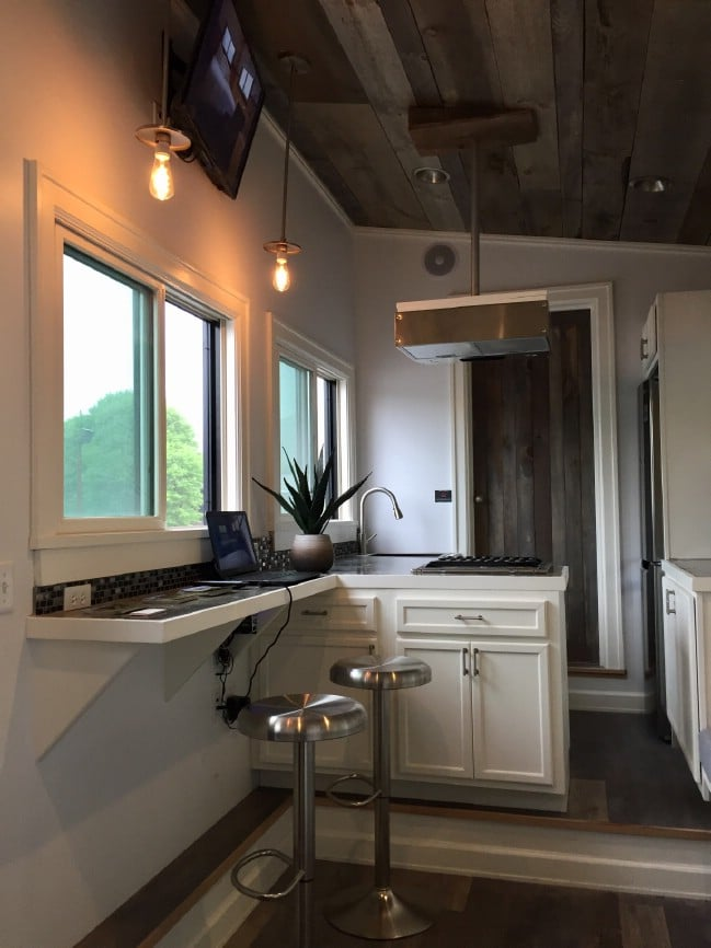 Stony Ledge Tiny House is 218 Square Feet of Rustic style