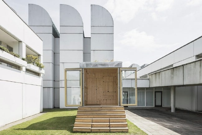 The Bauhaus Campus in Berlin is an Experimental Tiny House Community