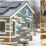 """The Distinctive """"Blue House"""" Packs a Ton of Features Into Just 171 Square Feet"""