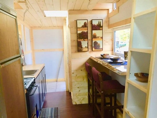 Functionality and Style Meet in This Canadian Tiny House For Sale
