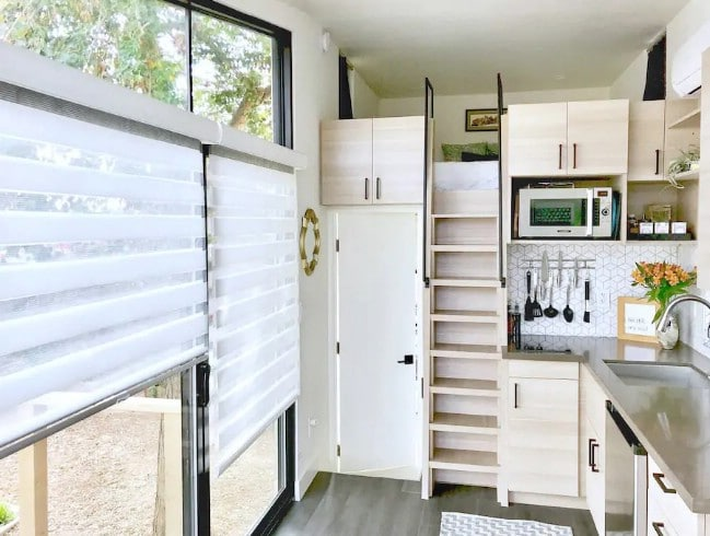 The Nest Tiny House Tour: