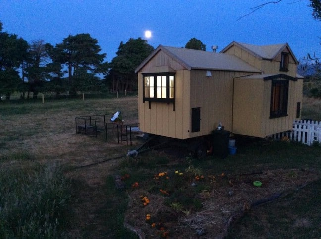 Introducing the Mustard Yellow Tiny House