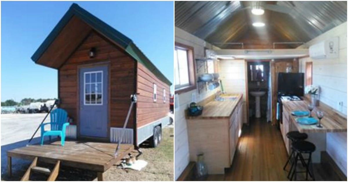 This Lovely Tiny Home Combines Indoor And Outdoor Space