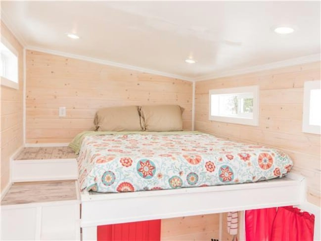 Live Large in a Tiny House for a Night in the Red Lifeguard Stand
