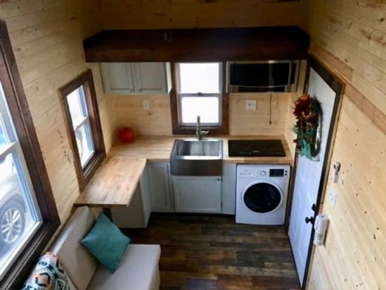 This Luxurious Tiny House Features Gorgeous Wood Construction