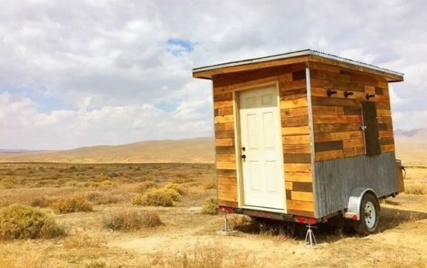 This Rustic Tiny Cabin in Nevada Comes With 40 Acres of Gorgeous Desert Land