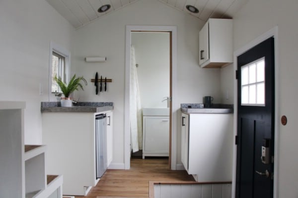 Step Inside the Hoosic Split-Level and Take a Step Up in Tiny Living