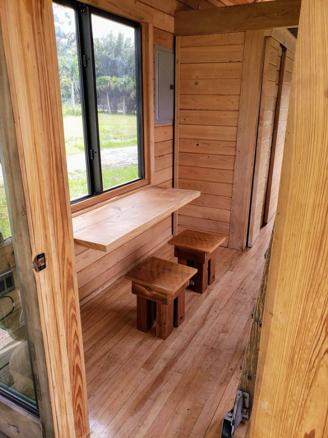 Stunning Tiny Home From Florida Tiny House Builders Is a Rustic Delight