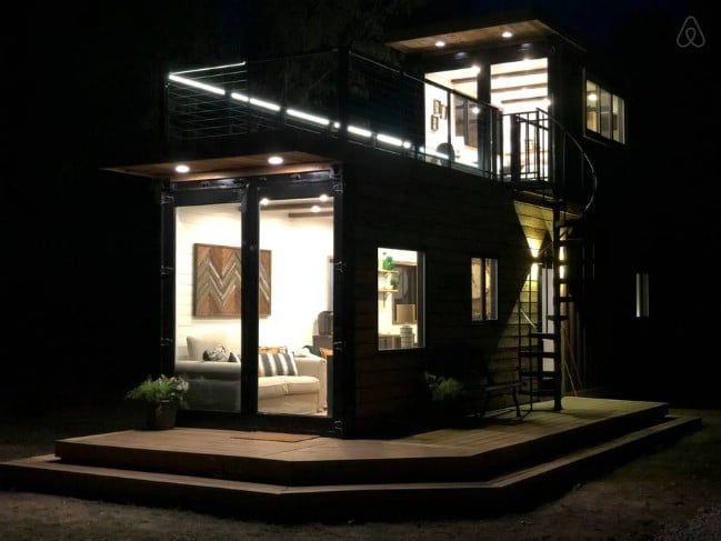 Here S Your Chance To Stay In A Cargohome Container House In Texas