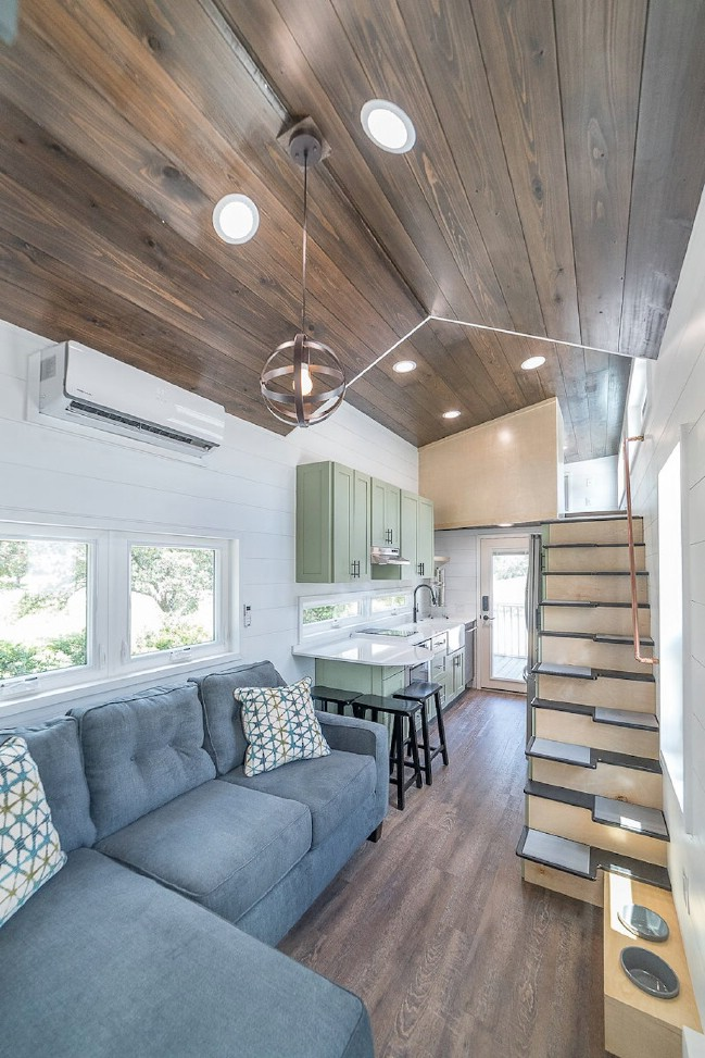 Wow! This Tiny House Packs in an Unbelievable Amount of Space