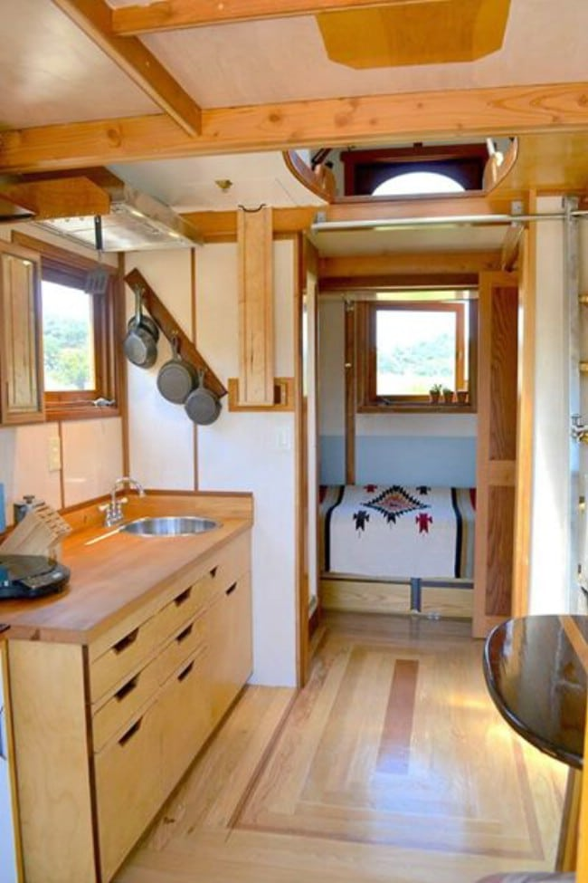 This Eclectic Tiny House is Ready for Off-the-Grid Living