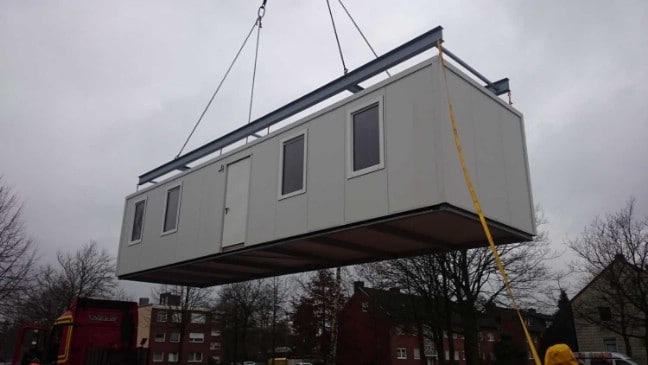 Shipping Container Tiny Houses Are Making a Difference for Refugees in Germany