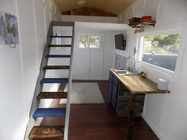 This Elegant Tiny House Was Designed to Mimic a Traditional Stick House