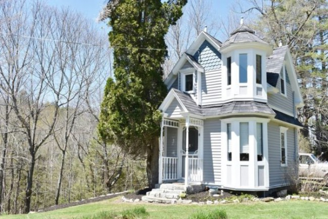 Someone is Lucky Enough to Call This Tiny Victorian House Their Home