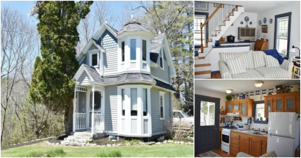 How Do You Design Home For Someone With >> Someone Is Lucky Enough To Call This Tiny Victorian House Their Home