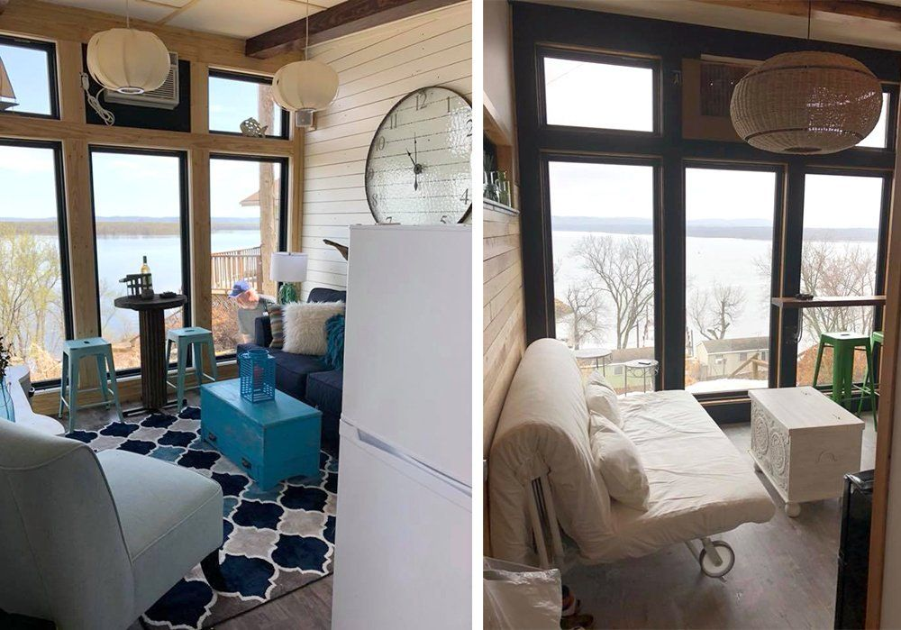 Stay in Style at a Tiny House at Lake Pepin