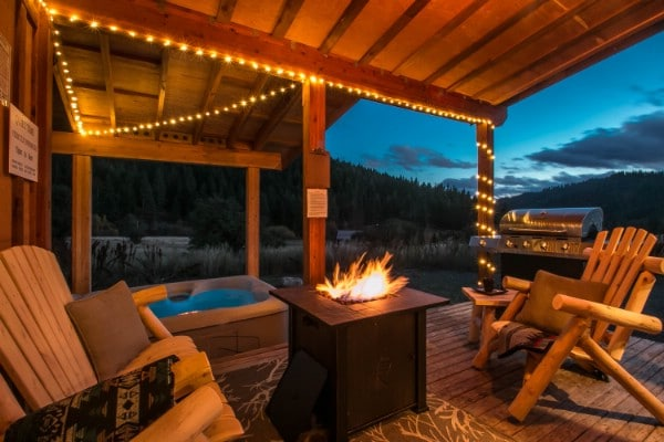 The Beaver Hill Tiny Cabin is Big on Rustic Charm