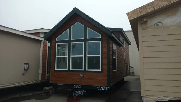 This Rustic Tiny House Features Beautiful Hardy Lap Siding