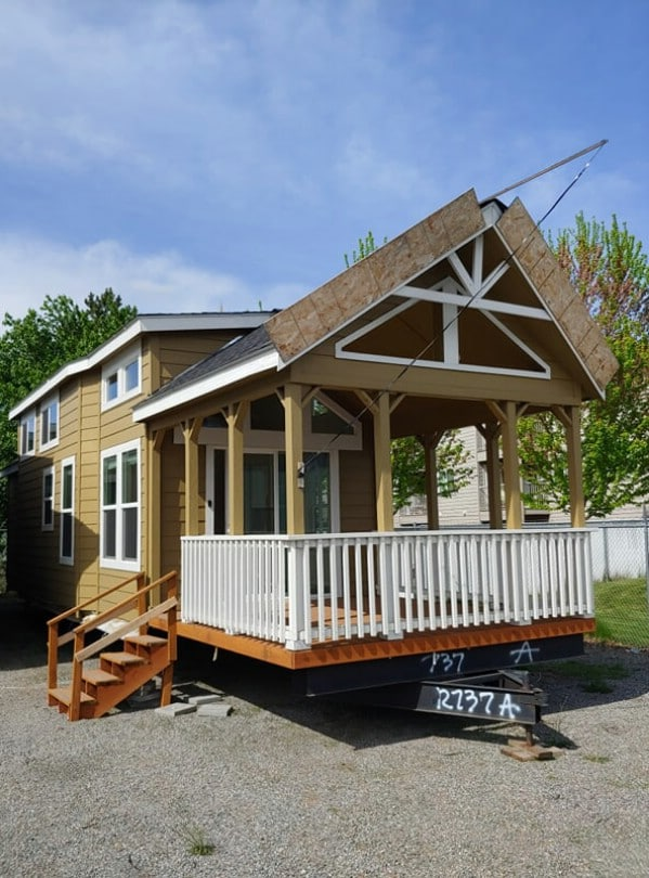 This Tiny House Features a Porch Which Is Anything But Small