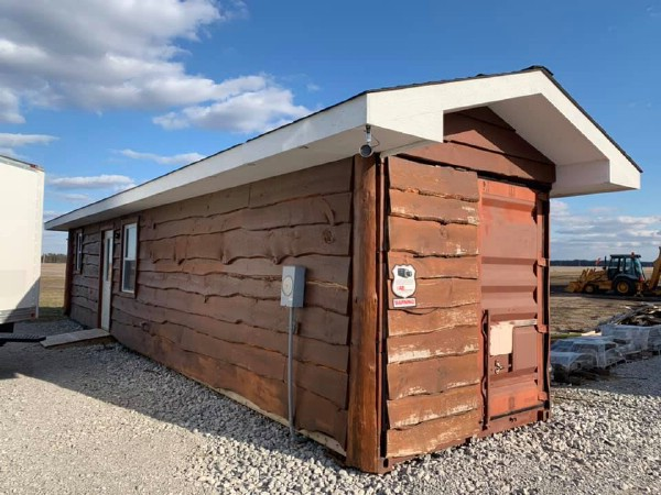 This Beautiful Little Cabin Started Out as a Regular Shipping Container