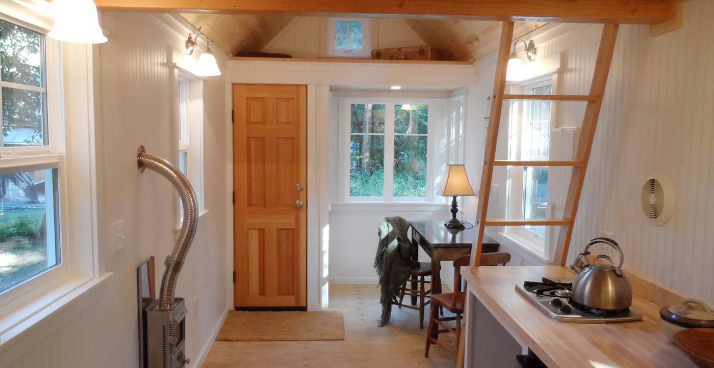 The Siskiyou Tiny House Welcomes You Home With Quaint Rustic Charm