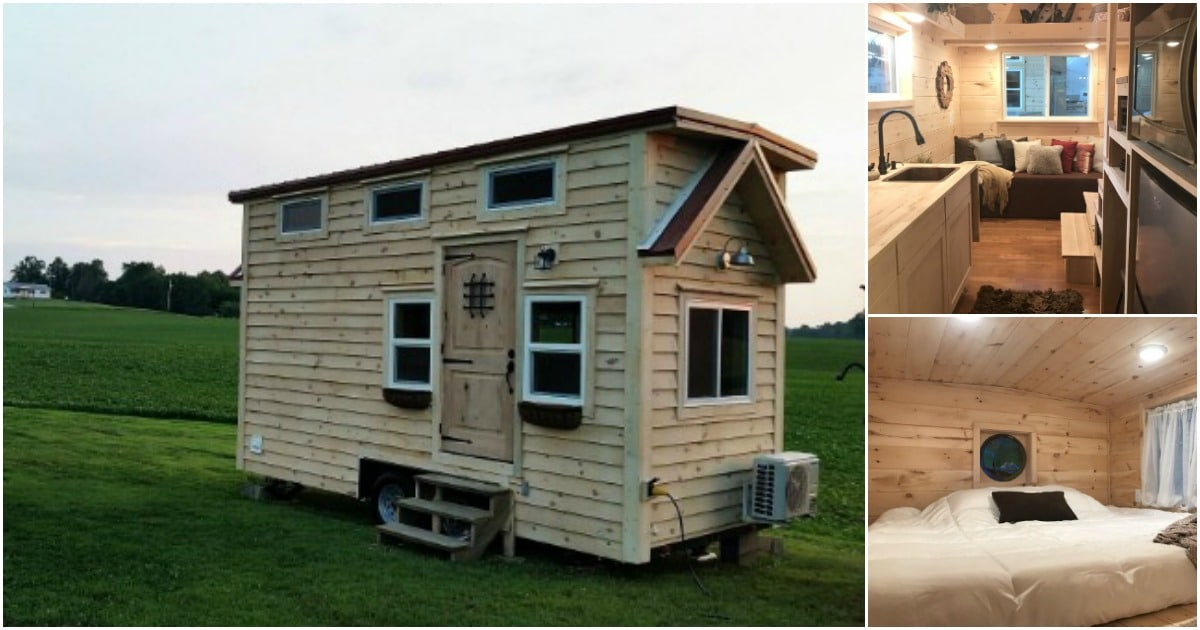 The Bluegrass Beauty 8 X 18 Tiny House Makes You Feel Right At Home Tiny Houses