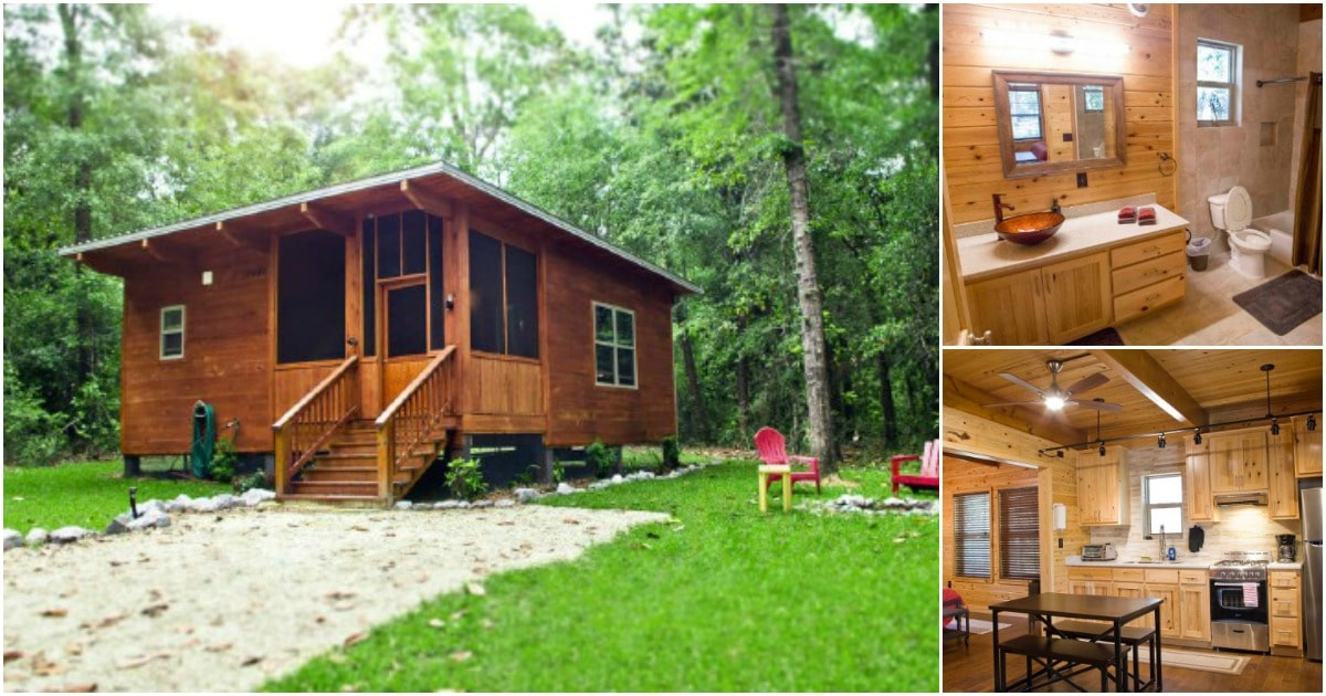 Tiny Eco-Design Cottage at Coldwater Gardens